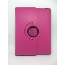 Case Capa Giratória Rosa Em Couro Para Tablet Ipad 2 E 3