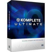 Komplete 10 Ultimate Licencia Retail Original