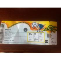 Ingresso Copa Das Confederações 2013 - Itália E México
