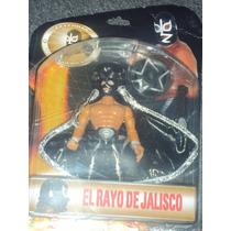 Figura De Luchador Mexicano Rayo De Jalisco Lucha Libre