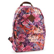 Aeropostale Hibiscus Backpack, Mochila Estampado Jamaicas