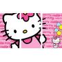 Hello Kitty - Cuadros Trípticos Modernos-infantiles