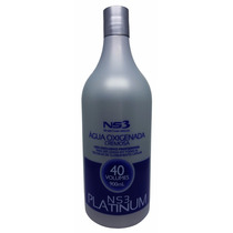 Água Oxigenada Cremosa 40 Volumes Platinum Ns3 900ml