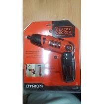 Desarmador Electrico Recargable Black & Decker Li2000 Dgv