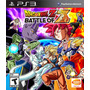 Dragon Ball Z Battle Of Z Nuevo Ps3 Dakmor Canje/vent