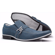 Sapato Sapatênis Masculino Casual Social Detalhe Fivela
