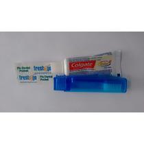 Kit Viagem Colgate - Escova, Creme Dental Mini E Fio 45 Cm