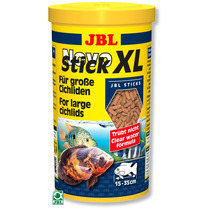 Ração Jbl Novo Stick Xl 400g Para Peixes Carnívoros Grandes