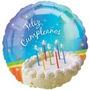 Globos Feliz Cumpleaños Para Fiestas Infantiles Primer Año 1
