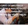 ***curso Mecânica Elétrica Injeção Auto E Caminhão 20 Dvd