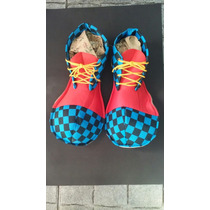 Zapatos Payaso Tela - Muy Lindos