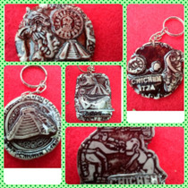 Llaveros Con Diseños Mayas En Resina 100% Resistentes!!