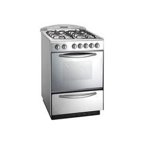 Cocina Domec 60cm Multigas Luz Enc Spiedo Acero Envio Gratis