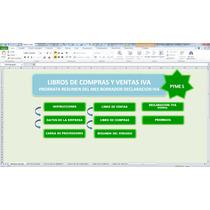 Libros De Compras Y Ventas Iva + Prorrata,plantilla En Excel