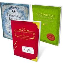 Kit Biblioteca De Hogwarts Harry Potter 3 Livros - Lacrado