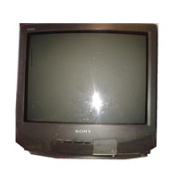 Tv Sony Kv-21 Para Dvd Practicamente Plana No Lcd Navidad