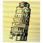 Carimbo De Madeira P/ Arte E Artesanato 6x7cm Torre De Pizza