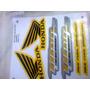 Adesivo Moto Titan 150 2013 Ex Amarela Kit Completo