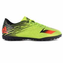 Zapatos Futbol Soccer Messi 15.4 Turf Hombre Adidas S74703