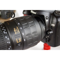 Nikon D50 Digital Dslr C/lente70-300mm Zoom Macro Exc+full++