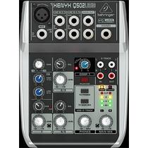 Mesa/mixer De Som Behringer Xenyx Q502 Usb 110 Vac - Ms0017
