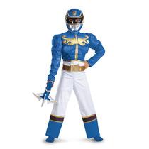 Disfraz Power Ranger Azul Fiesta Piñata Entrega Inmediata