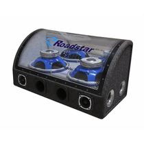 Caixa Amplificada Roadstar Rs1245 2 Subwoofer 12