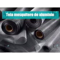 Rollo Tela Mosquitero 100% Aluminio Alta Calidad 80cmx30mts