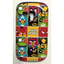 Capinha Capa Case Angry Birds Heroes Galaxy S3 Mini