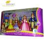 Familia Real Princesa Sofia Disney Original Mattel Set 5 Pzs