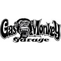 Adesivo Gas Monkey Garage 40x16cm Carros Pickups Caminhão