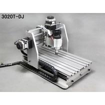 Router Cnc 30x20 Fresadora Mach3 3 Ejes Minirouter