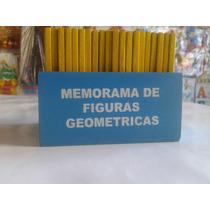 Memorama De Figuras Geometricas De Maderamemorama De Figuras