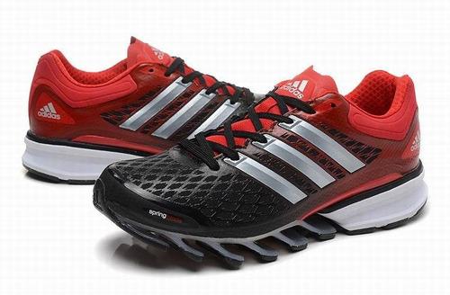tênis adidas springblade ff preto e vermelho envio imediato