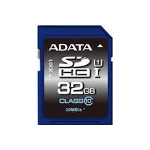 Tarjeta Memoria Sd Uhs 32 Gb Adata Sdhc Cl 10 Tablet Camara