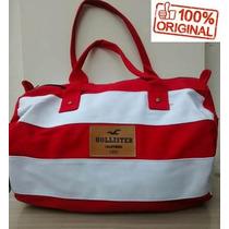 Bolsa Hollister Original - Mala Viagem, Mala De Bordo Grande