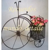 Centros De Mesa Bicicleta Vintage Shabby Chic Boda Despedida