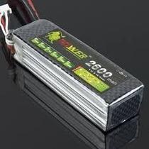 Bateria Lipo 11.1v 2600mah 35c 3s Quadricoptero Dji Phantom