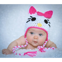 Gorros Tejidos Animados Para Bebes
