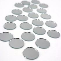 Bases Espelhada P/ Doces, Biscuit, Decoração - 50 Pçs De 5cm