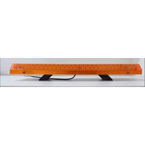 Kit Sinalizacao Giro Flex 168 Leds 62cm + 4 Estrobos Slim 16