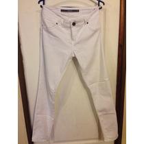 Jeans Pantalón Blanco Marca Barbados Talla 44
