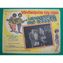 Viruta Y Capulina Limosneros Con Garrote Orig Cartel De Cine