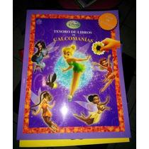 Libro Disney Campanita Calcamonias Tinkerbell Remate