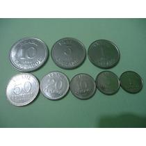 Moedas 1/5/10/20/50/centavos E1/5/10cruzados De 1988