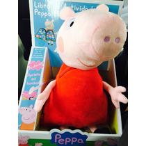 Peppa Pig Peluche Libro De Actividades Español Voces Música