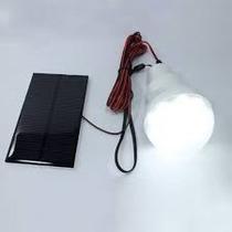 Lampada De Led Solar Com Placa Solar E Bateria Interna