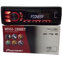 Radio Automotivo Pioneer Mvh-288bt Bluetooth Usb Modelo 2016