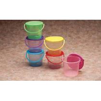 50 Cubetas De Plastico, Colores Fiesta, Dulcero, Recuerdo