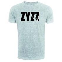 Camiseta Zyzz - Cinza - Musculação - Maromba Fitness